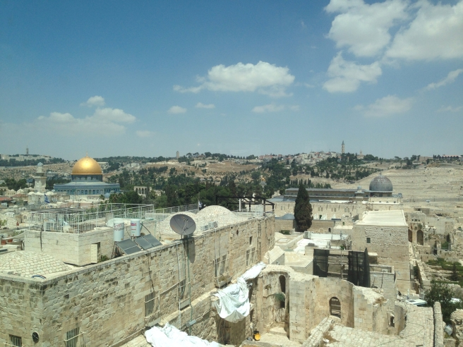 Dome of the Rock, Temple Mount, Mount of Olives