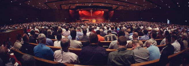 Tim Challies' photo from the Inerrancy Summit in CA.